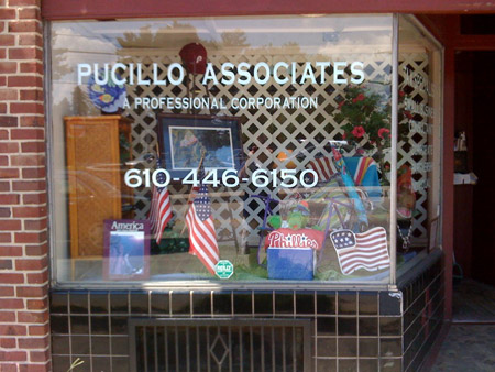 Pucillo Store Front Summer 2010