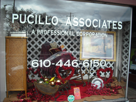 Pucillo Store Front Winter of 2009